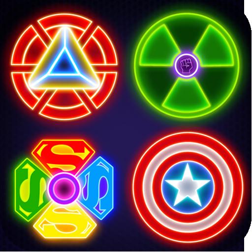 Super Hero Fidget Spinner 2-Avenger Spinner