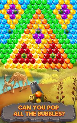 Bubble Savanna - screenshot