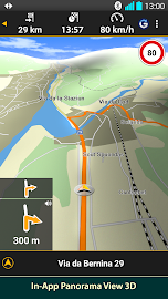 NAVIGON Europe Screenshot 4