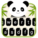 Cartoon Panda Keyboard Theme icon