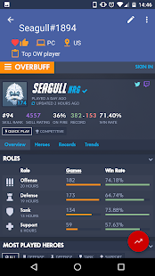 Player Log for Overwatch- screenshot thumbnail