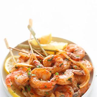 Jerk Shrimp Skewers