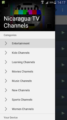 TV Nicaragua All Channels
