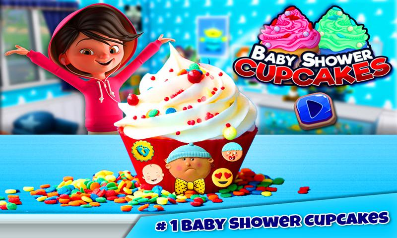 Baby Shower Cupcake Maker Game Android Apps On Google Play