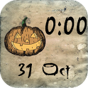 Halloween Clock Widget icon