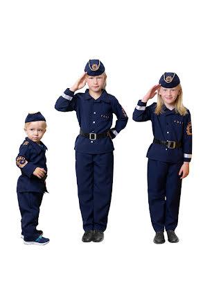 Barndräkt, polis