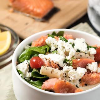 Smoked Salmon Salad {Gluten Free}.