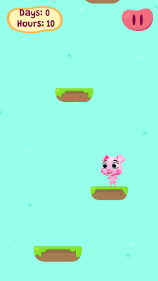 Piggy Adventure, Jump Up Porky - screenshot