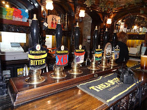 Photo: Theakston's is a large, family-owned brewery in Yorkshire. They are the proud makers of Old Peculier.