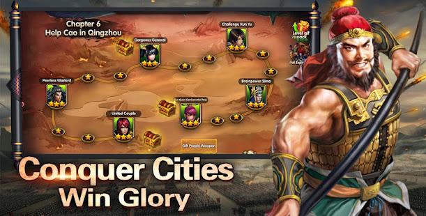 Hack Game Three Kingdoms: Chaos Arena apk free