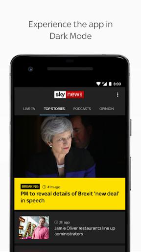 Sky News: Breaking, UK, & World screenshot 8