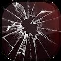 Cracked Screen Prank LWP icon