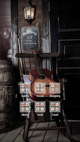 android Quiet Guitar on the Chair Screenshot 2