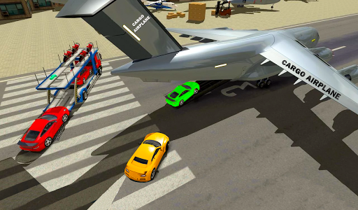 Airplane Car Transport Simulator Drive 1.0 screenshots 13