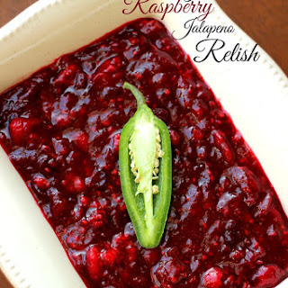 Cranberry Raspberry Jalapeno Relish.