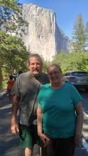 Photo: Andy & Linda at El Capitan