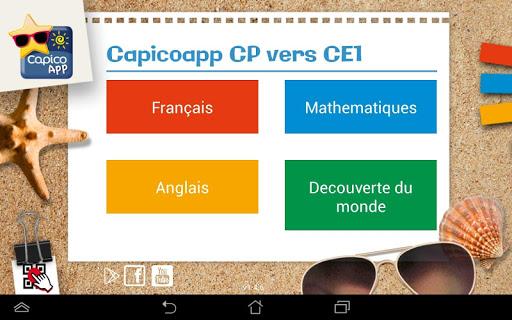 CapicoApp CP vers CE1