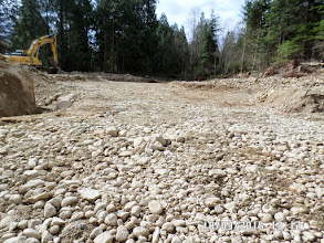 Photo: LEVELLED AREA... THREE METRES DEEP FROM THE HILL AREA TO EXISTING HOUSE LEVEL