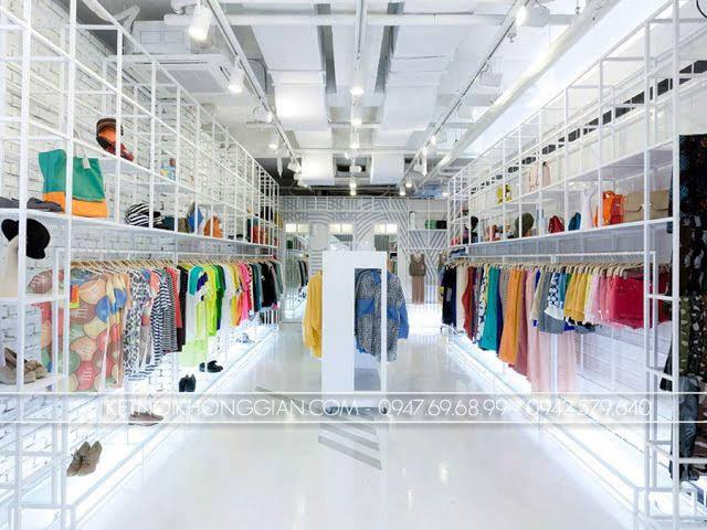 thiết kế shop túi xách thời trang 3