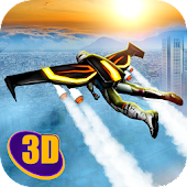 Skydiving Flying Air Race 3D