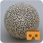 VR Maze Cardboard Icon