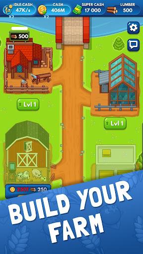 Idle Farm Tycoon - Merge Simulator 0.8 screenshots 1