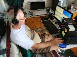 Photo: KR7LD 40 & 15 Meter CW/RTTY FD2009, total contacts 1313