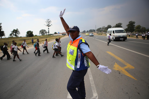 Johannesburg Metro Police Officer Dorah Mofokeng Photo: Alaister Russell, The Times