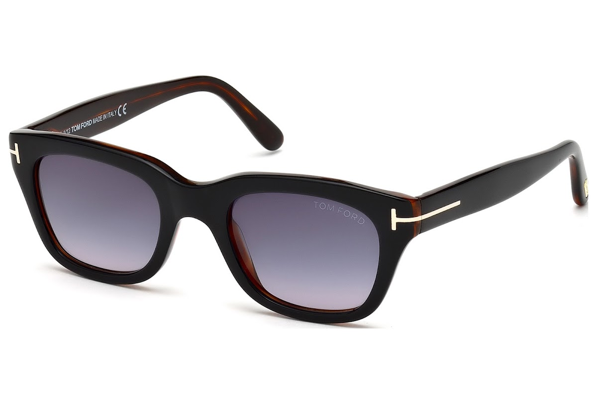 8cd69a6027 Sunglasses Tom Ford Snowdon FT0237 C50 05B (black other   gradient smoke)
