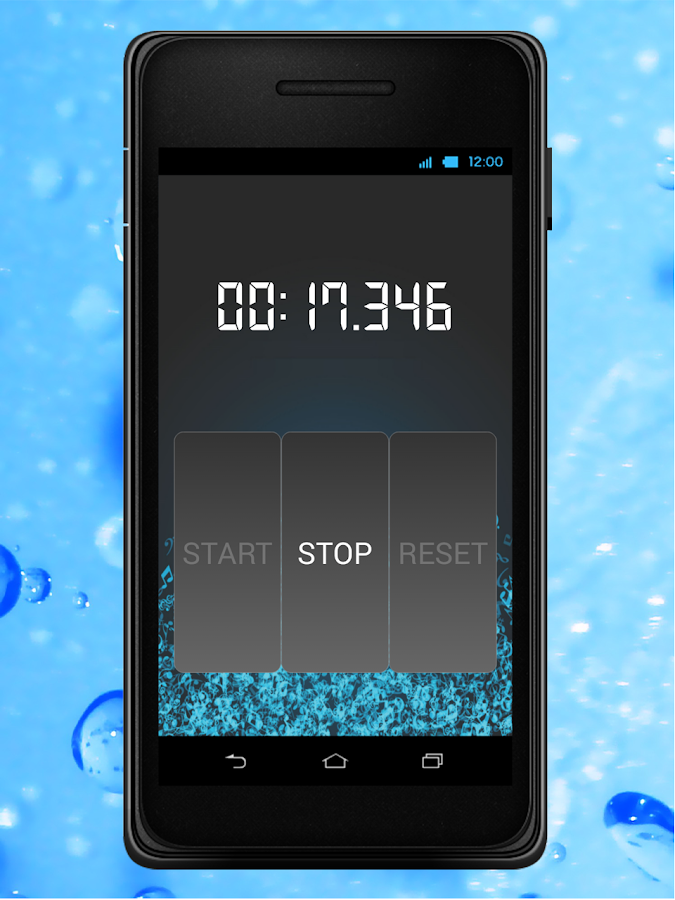 Cool Stop-Watch!- screenshot