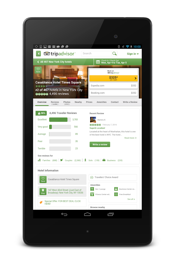TripAdvisor Hotels Flights- screenshot