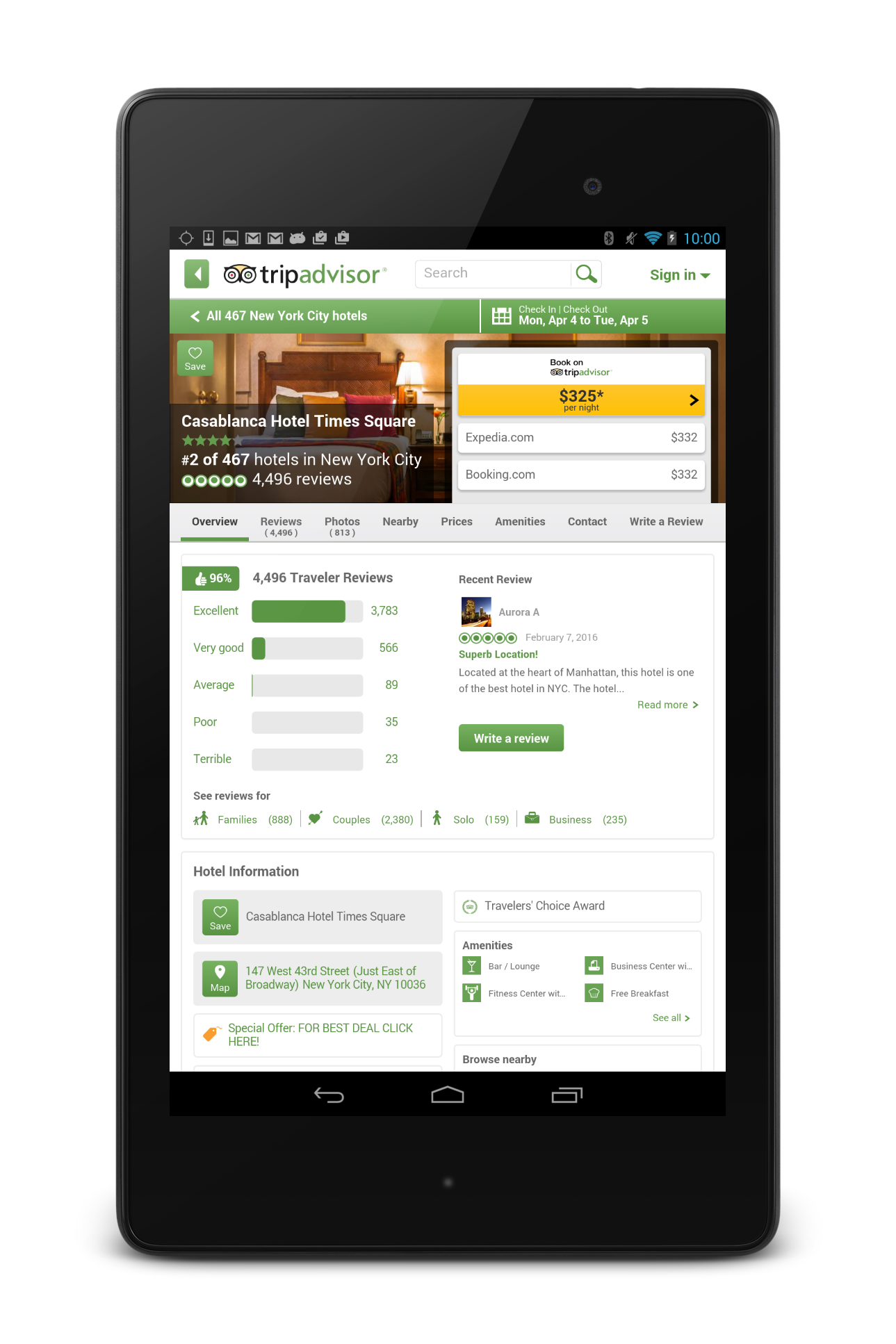 TripAdvisor Hotels Restaurants screenshot #19