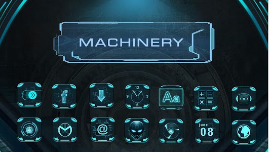 Machinary - eTheme Launcher screenshot 0