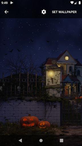 Scary House Live Wallpaper screenshot 3
