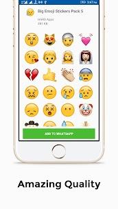 Big Emoji Stickers For Whatsapp apk download 4