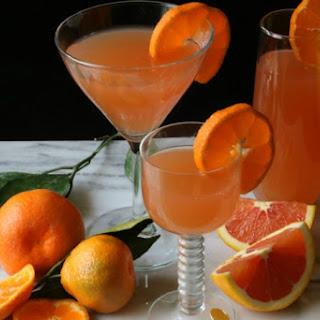 Sparkling Blood Orange Cocktail