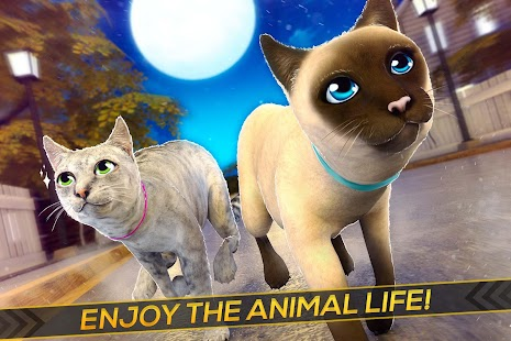 Meow! Cute Kitty Cat 🐈 Puppy Love Pet Simulator Screenshot