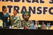Nkosazana Dlamini-Zuma lost the presidential race.