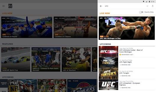 FOX Sports GO Screenshot 5