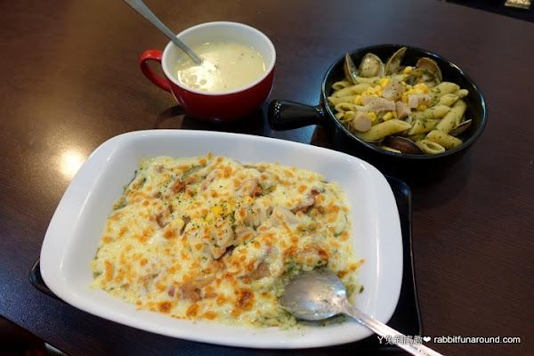 亞米廚房。平價百元義大利麵、燉飯、焗烤