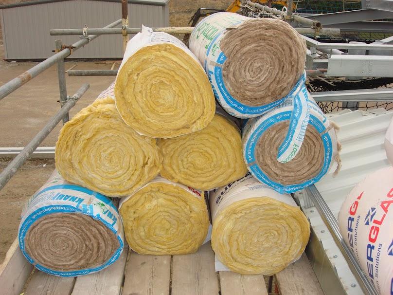 Wełna mineralna do izolacji dachu