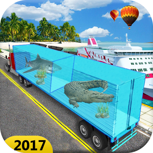 Sea Animal Cargo Truck Free for PC