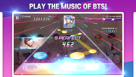 SuperStar BTS Screenshot