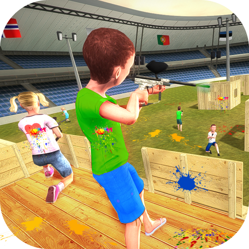 Kids Paintball Combat Shooting Training Arena 1.0.1