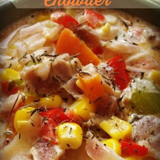Corn and Bacon Chowder #SundaySupper
