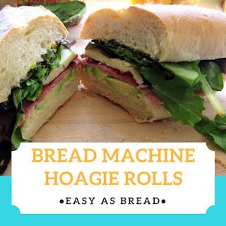 Bread Machine Hoagie Rolls Recipe
