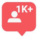 Free 100 TikTok Followers Icon