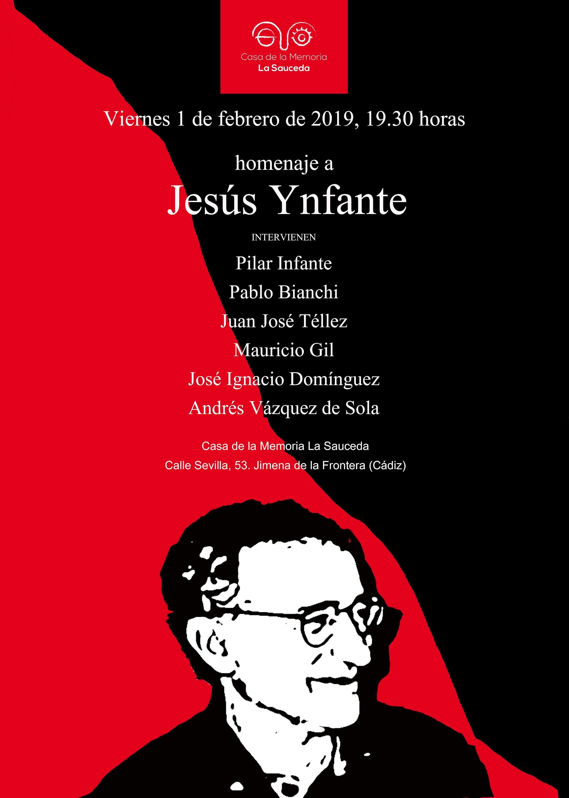 Escritores, periodistas, familiares y amigos de Jesús Ynfante le rendirán un homenaje póstumo