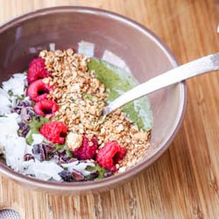 Vegan Spinach Acai Bowl {Gluten-Free}