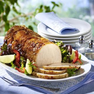 Grilled Hickory Pork.